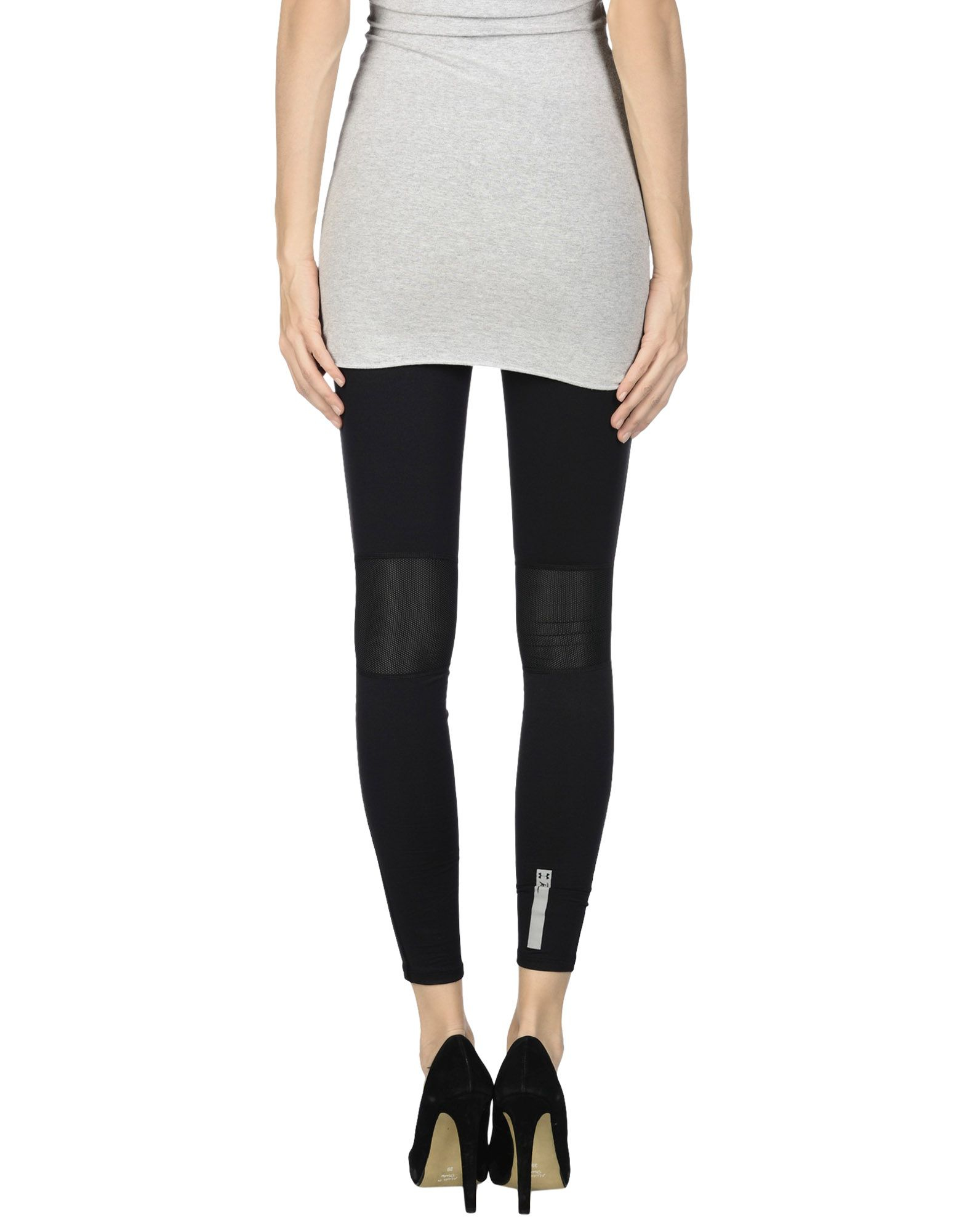 Under armour Leggings in Black | Lyst