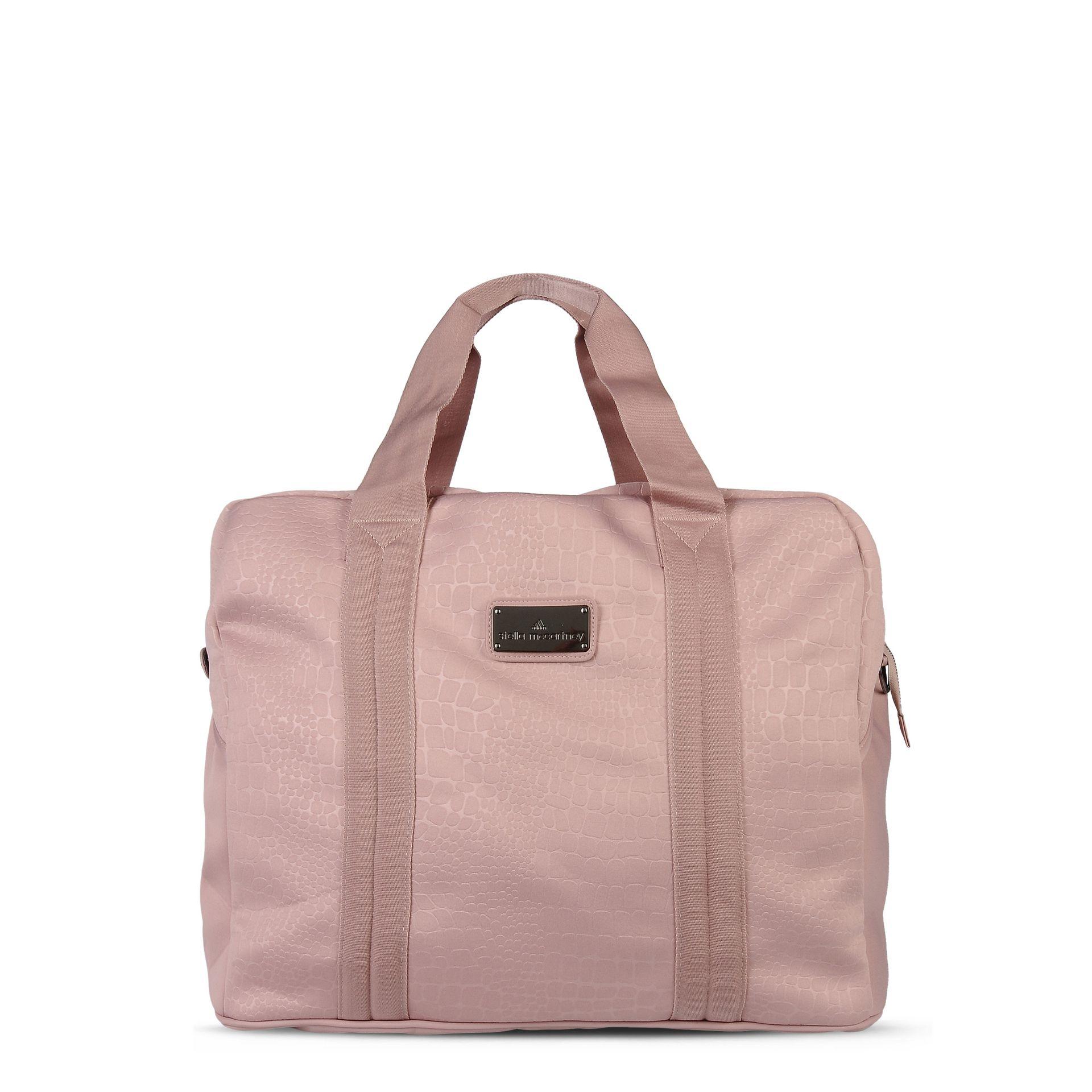 Lyst - adidas By Stella McCartney Pink Essentials Sports Bag in Pink 6855912422374