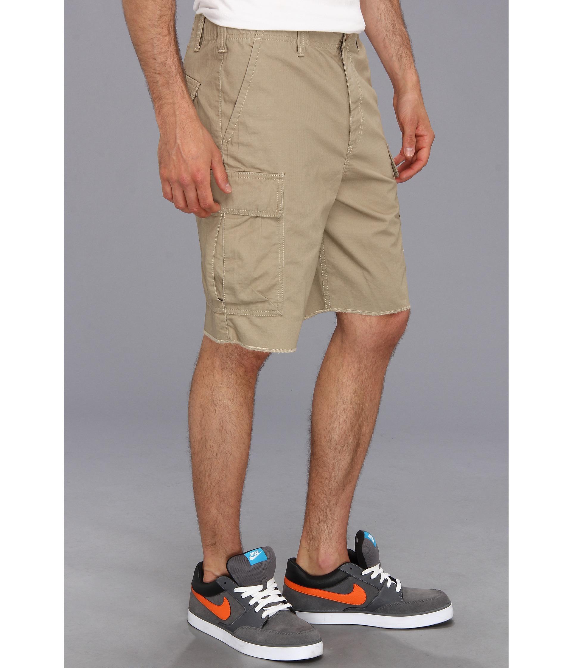 Nike Sb Hawthorne Cargo Short in Natural for Men | Lyst