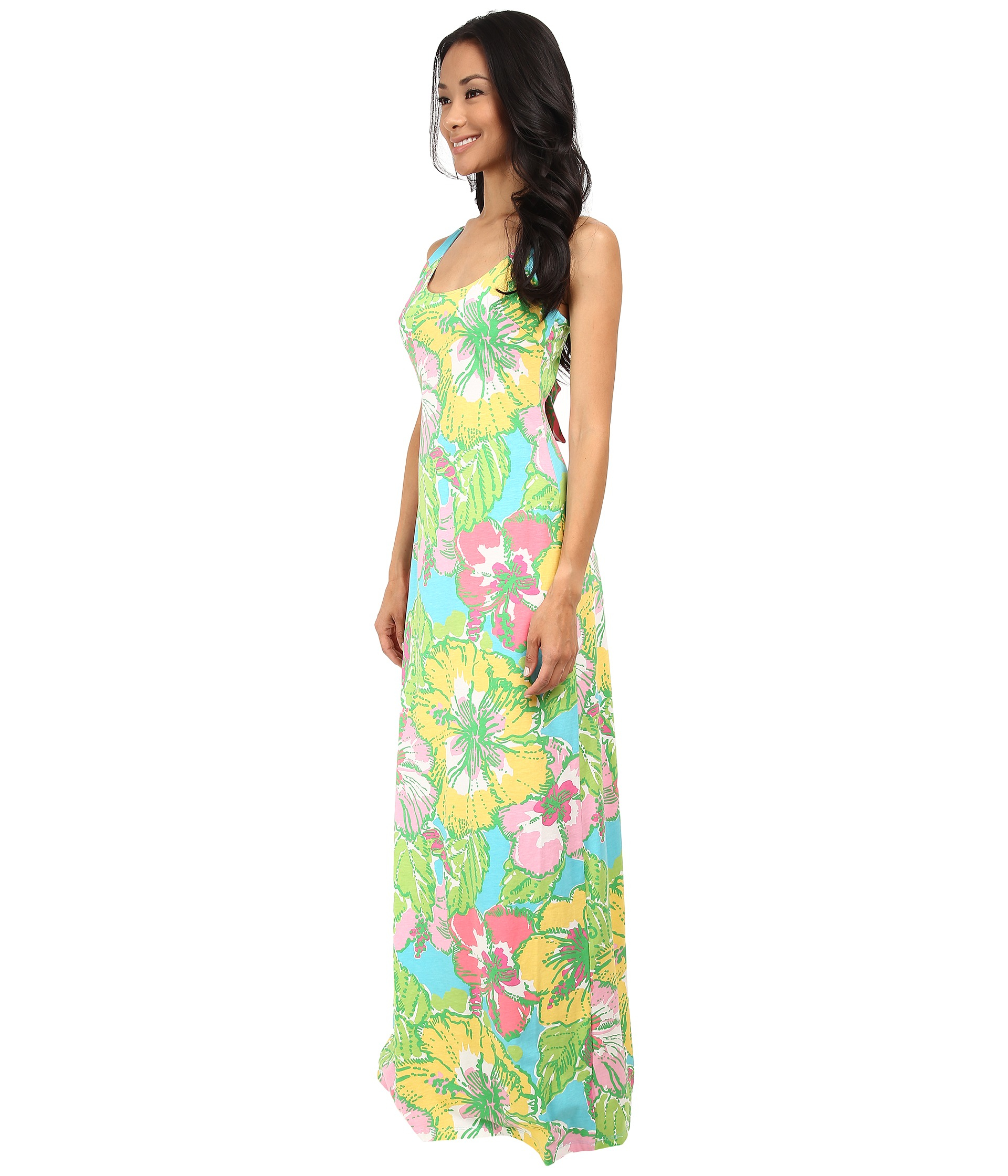 Lilly pulitzer Palm Maxi Dress | Lyst