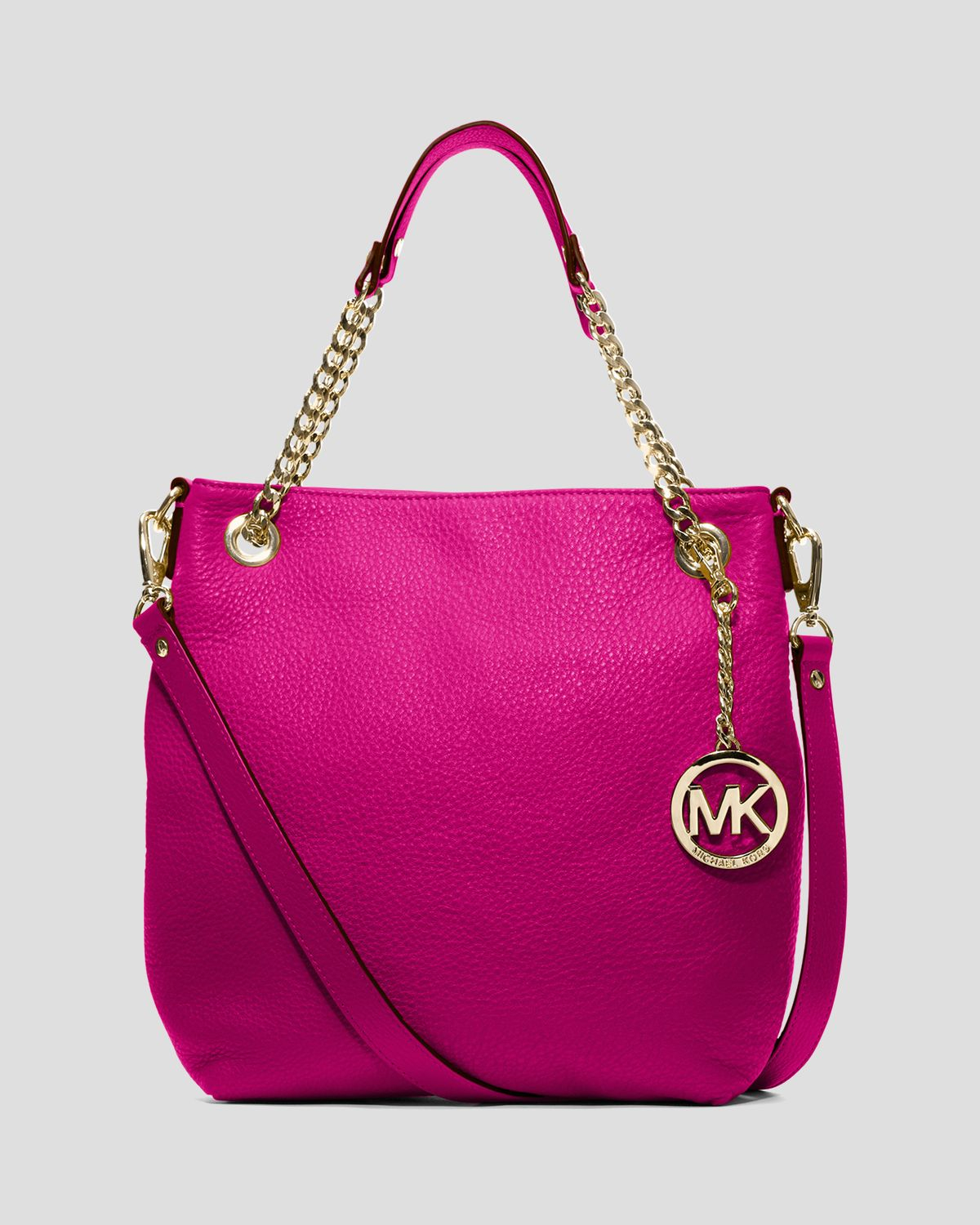 Michael michael kors Shoulder Bag - Jet Set Chain Medium in Pink ...
