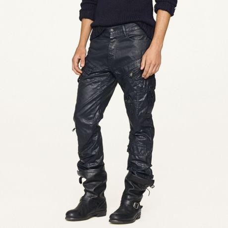 Black Cargo Pants For Men Cargo Pant in Blue For Men
