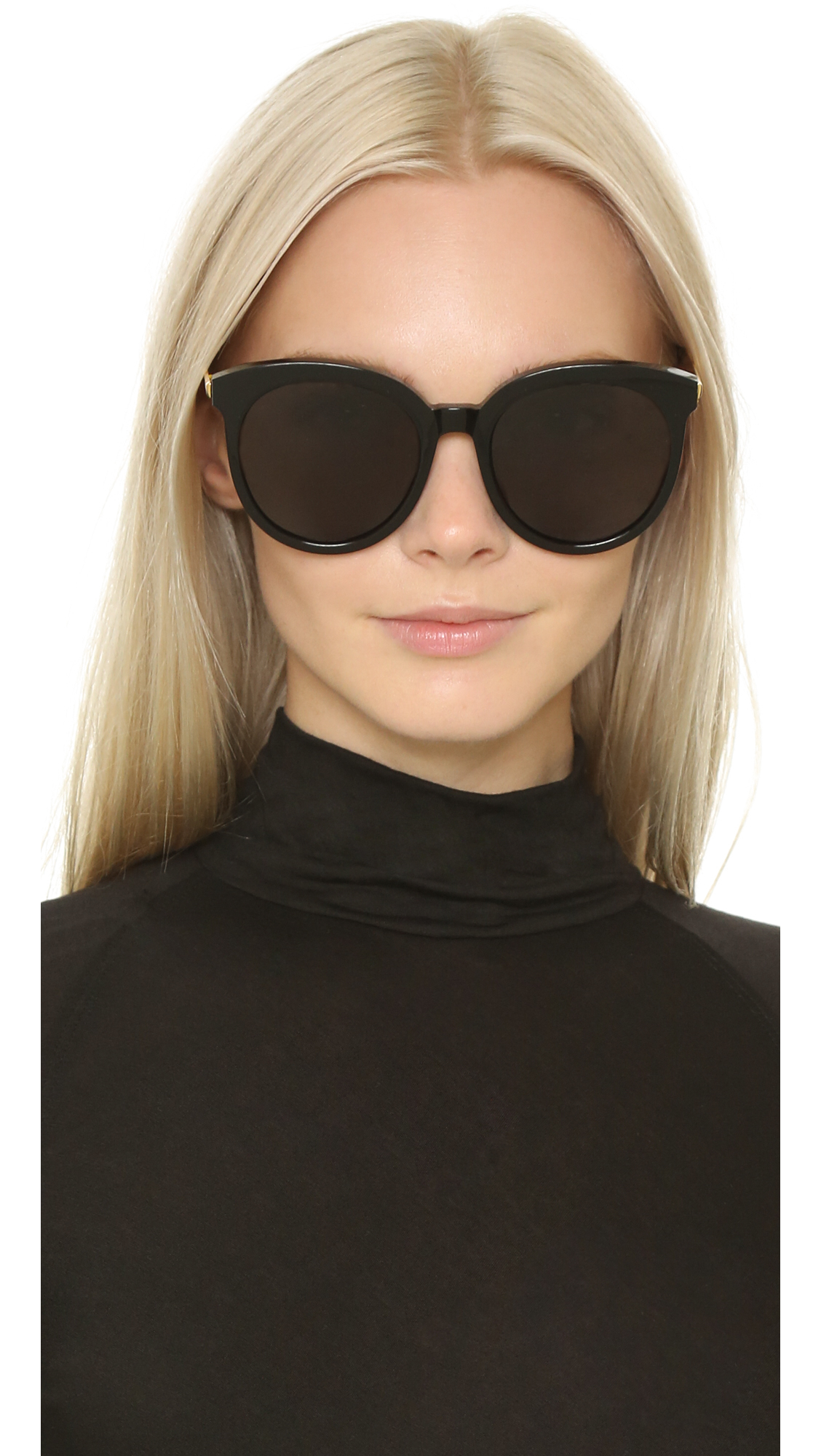 Lyst Gentle Monster Lovesome Sunglasses Black Grey In