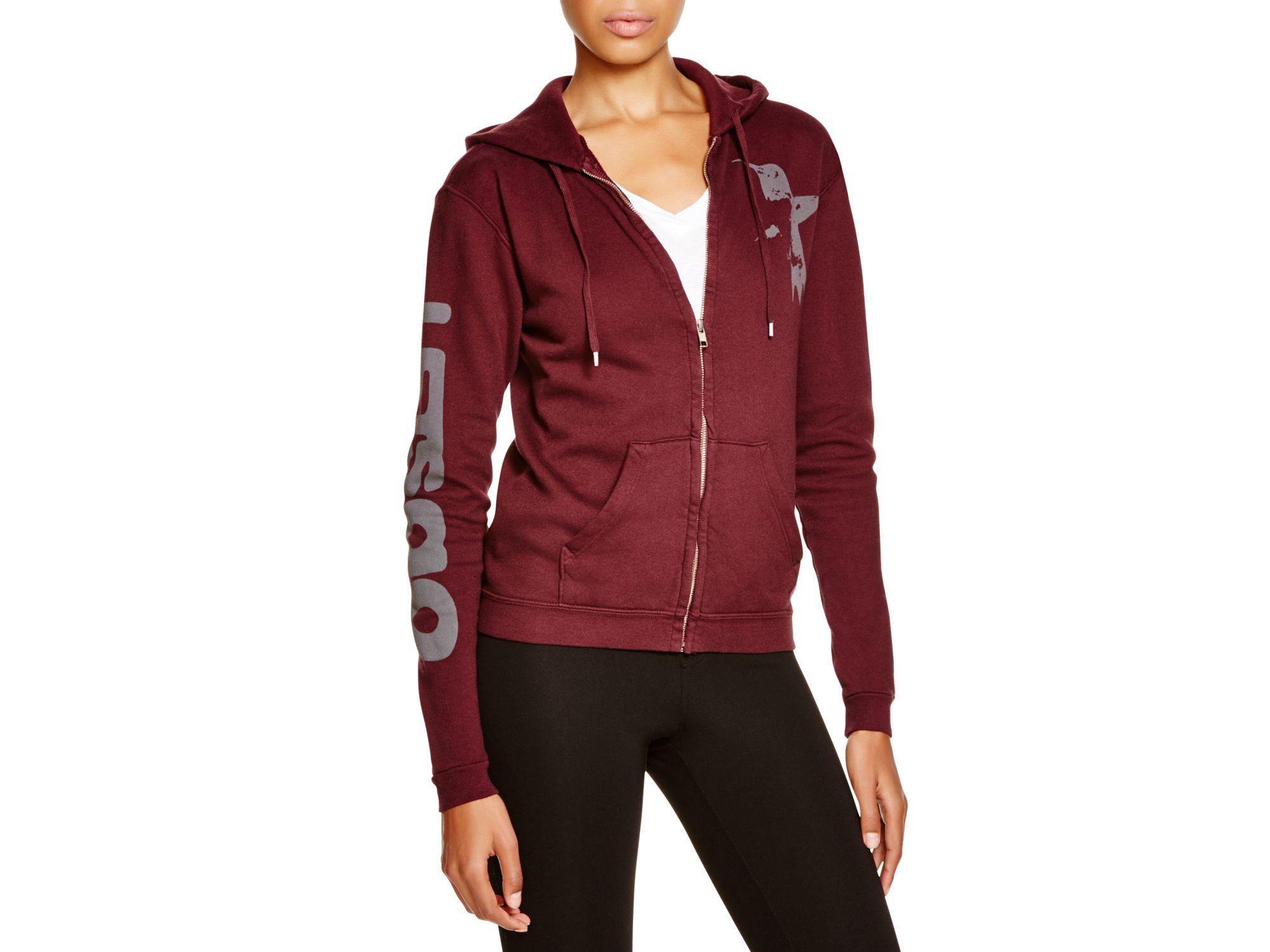 free city large zip hoodie in lyst