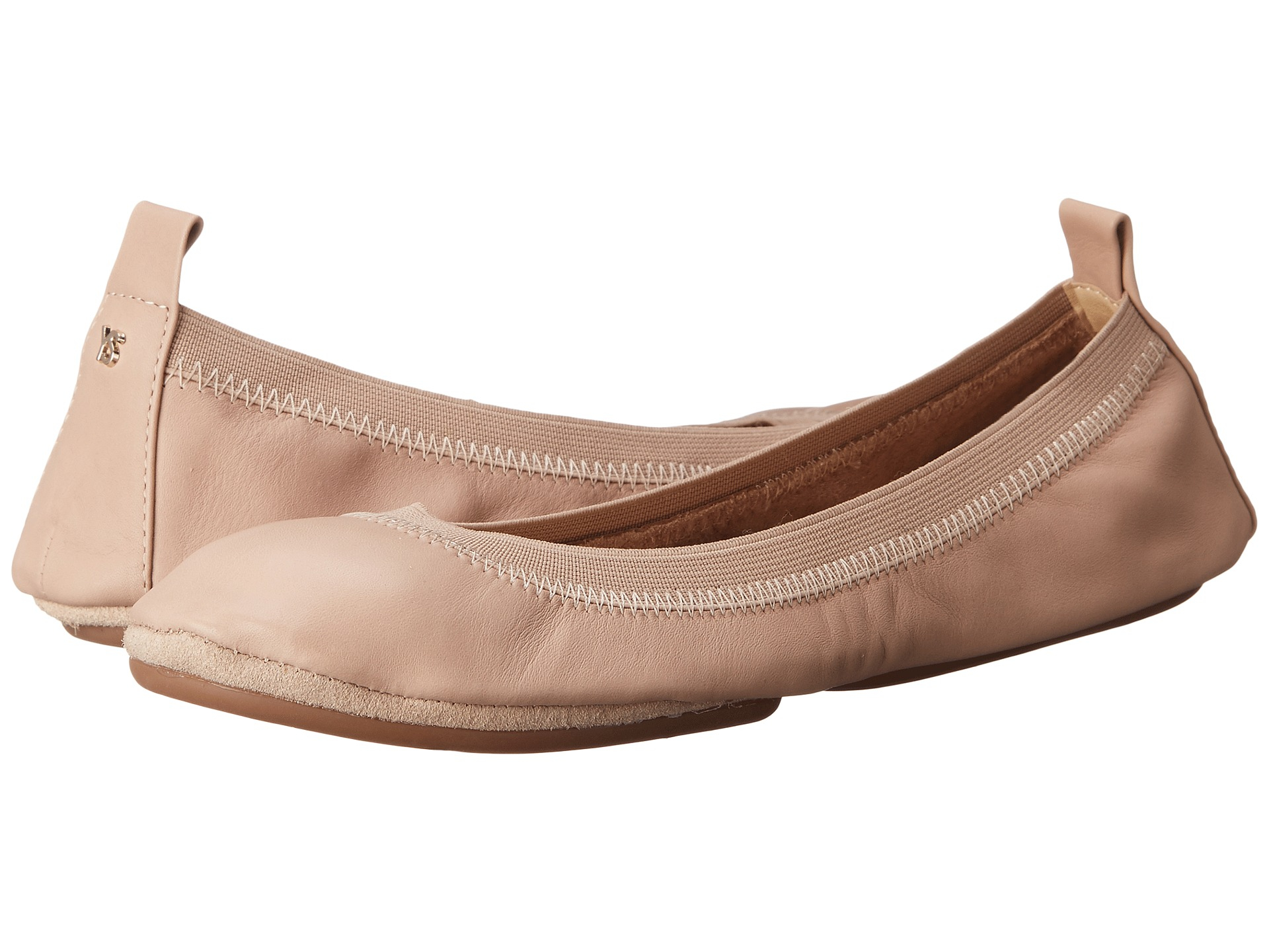 YOSI SAMRA Soft Leather Ballet flats Pink LI62423