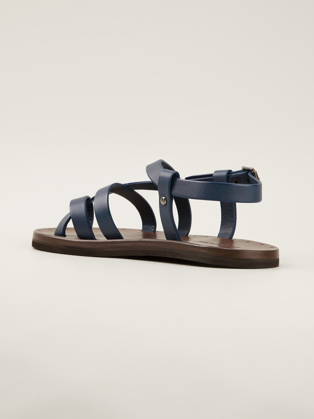 95c02f1e564 Lyst - DSquared² Toe Strap Sandals in Blue for Men