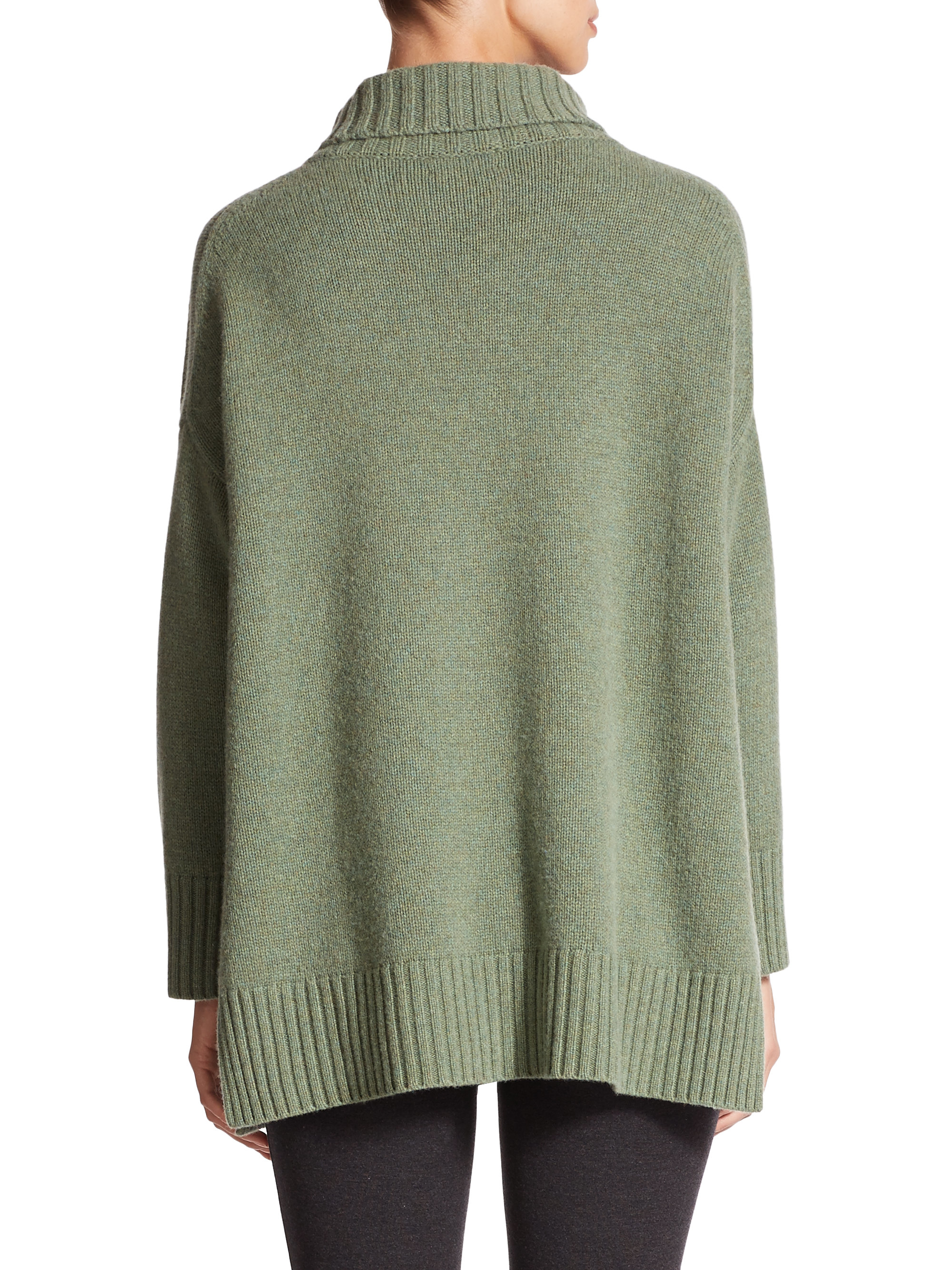 Polo ralph lauren Wool & Cashmere Oversized Turtleneck Sweater in ...