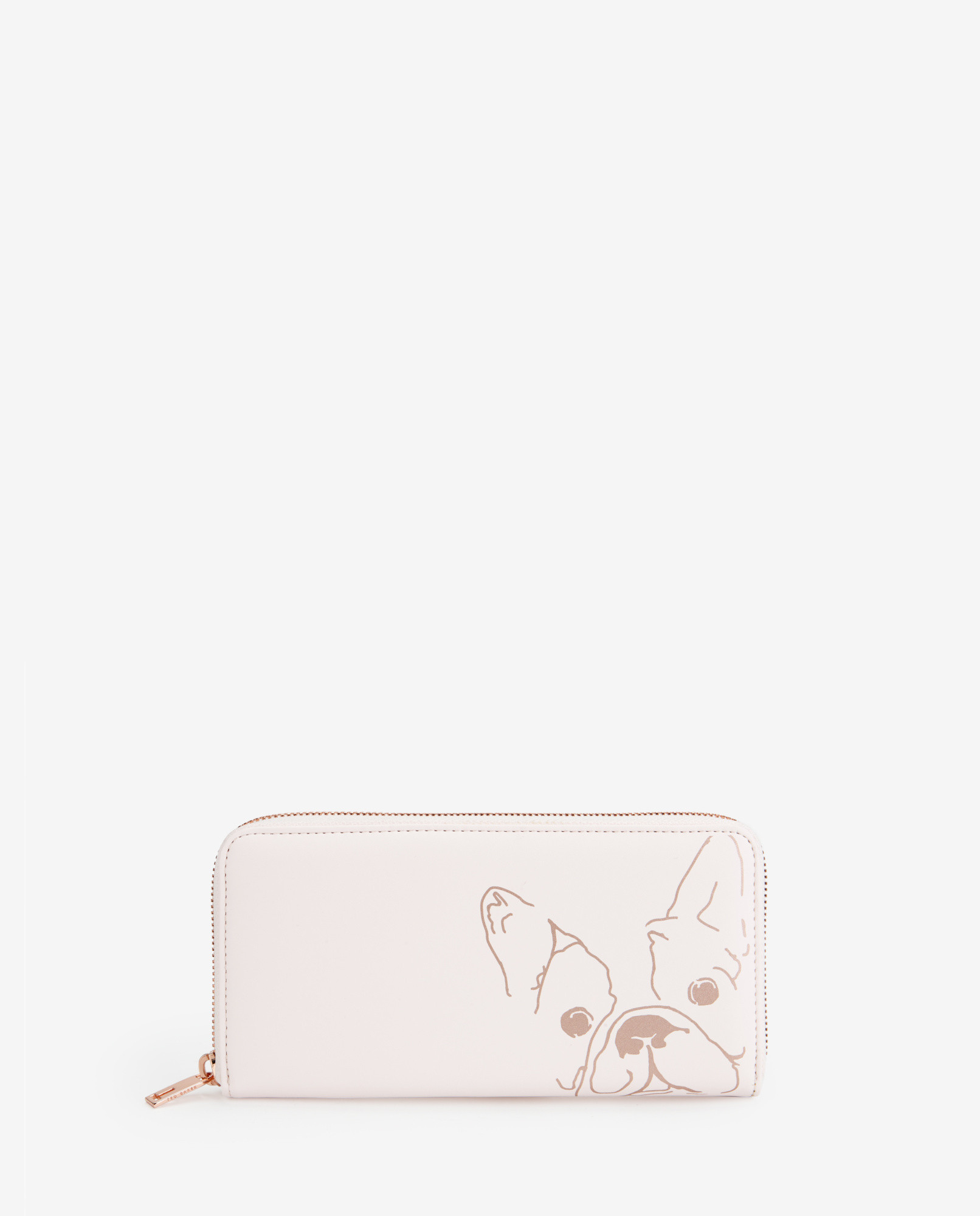 d982cc53d39de3 Ted Baker French Bulldog Print Matinee Purse in Natural - Lyst