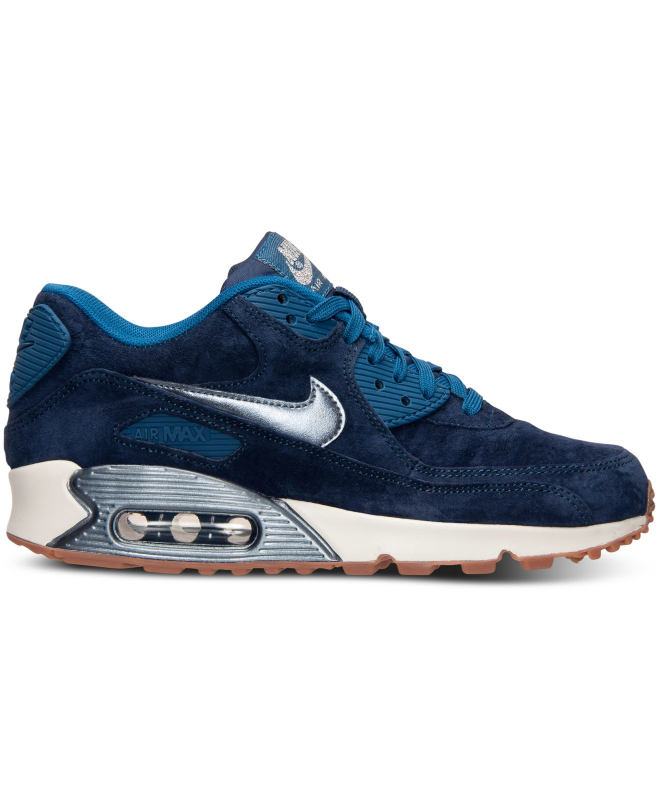 c3179fb657693 ... 90 Leather Running Sneakers from Finish Line Gallery. Previously sold at:  Macy's · Women's Nike Air Max Women's Nike Air Max ...