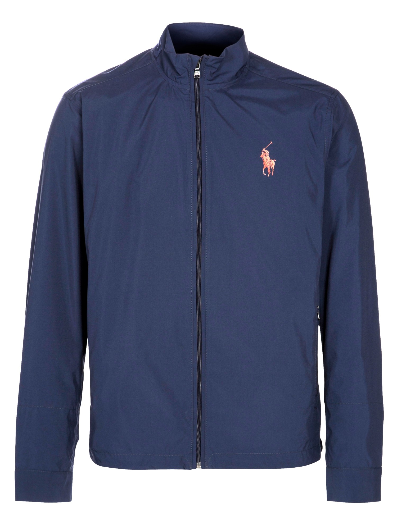polo ralph lauren windbreaker jacket in blue for men navy. Black Bedroom Furniture Sets. Home Design Ideas