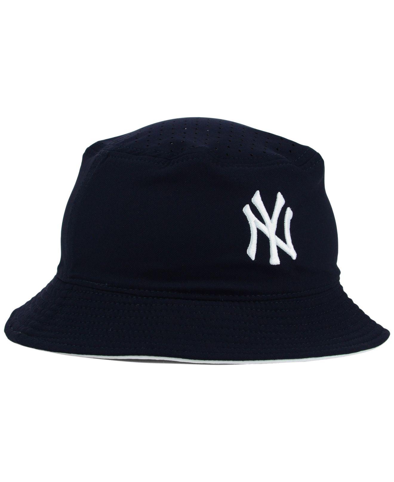 e4fce86e8da Lyst - Nike New York Yankees Vapor Dri-fit Bucket Hat in Blue for Men
