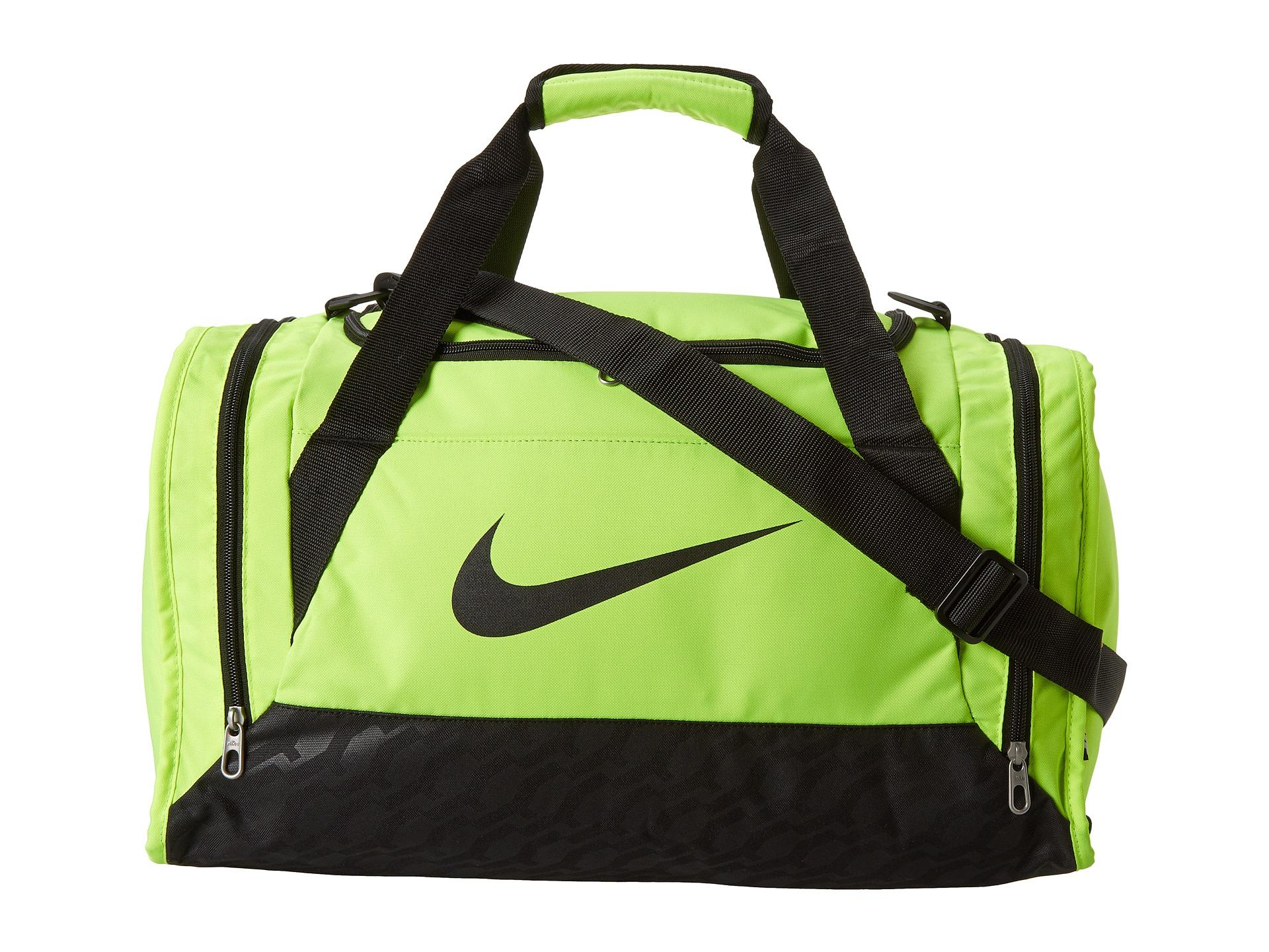 Lyst - Nike Brasilia 6 Small Duffel in Green 63feef5f2a3f7
