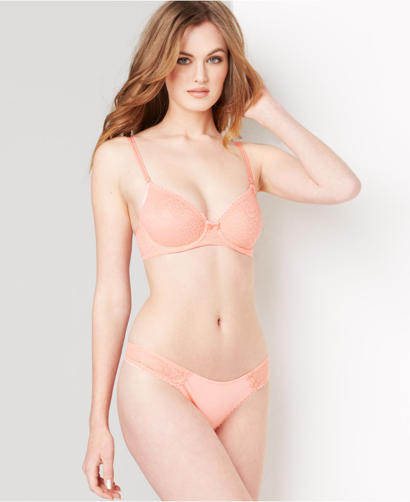a041623786 Lyst - B.tempt d By Wacoal B.awesome Underwire Bra 951231 in Natural