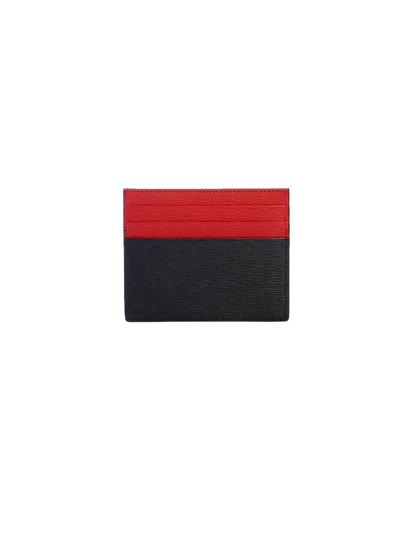 771569205d Fendi Bag Bugs Leather Cardholder in Black for Men - Lyst