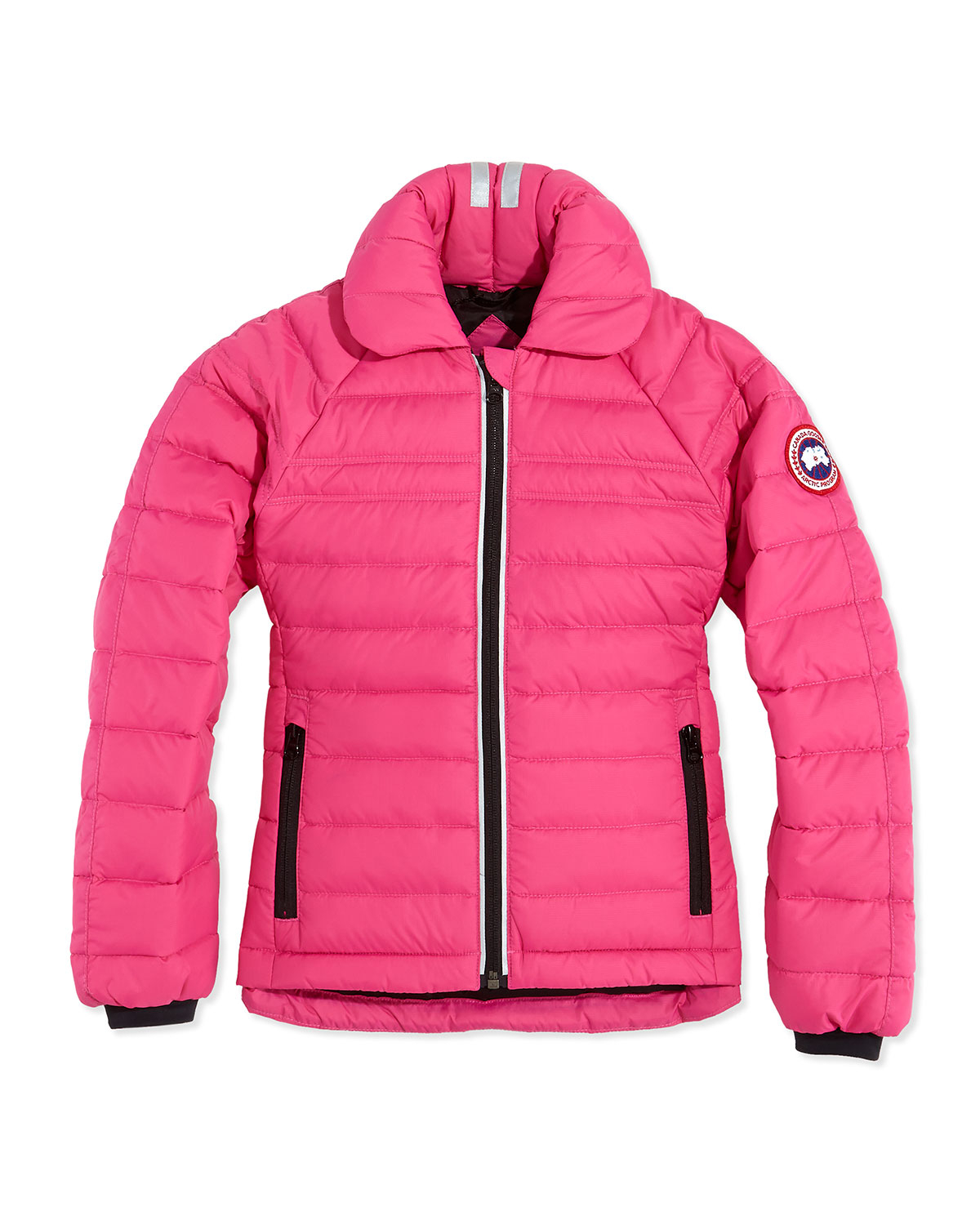 Lyst Canada Goose Youth Charlotte Quilted Jacket In Pink
