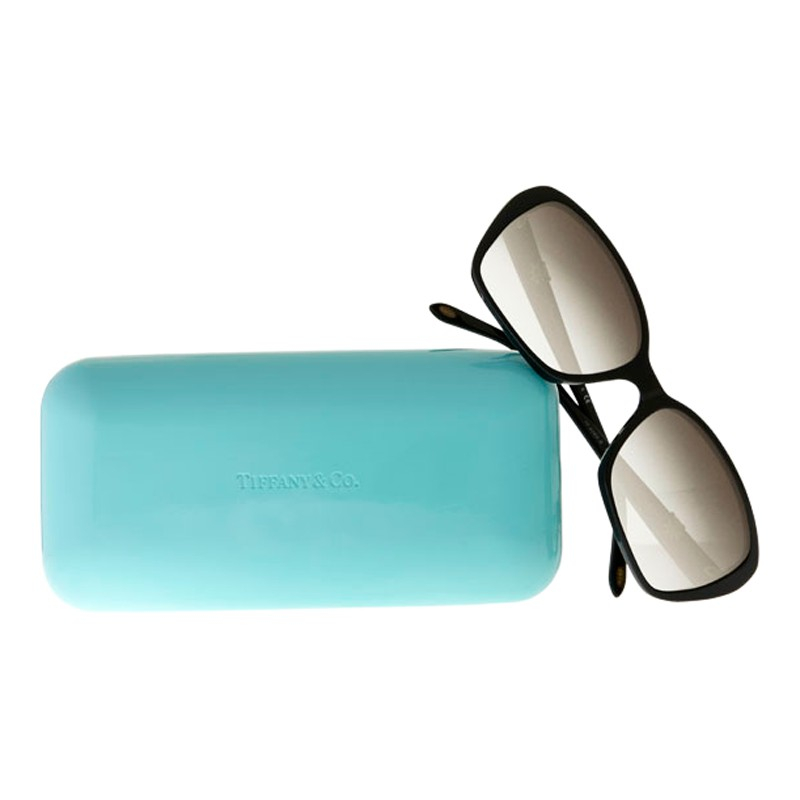 f6934e9093bb Tiffany & Co. Tf4096b Multi Daisy Sunglasses in Black - Lyst