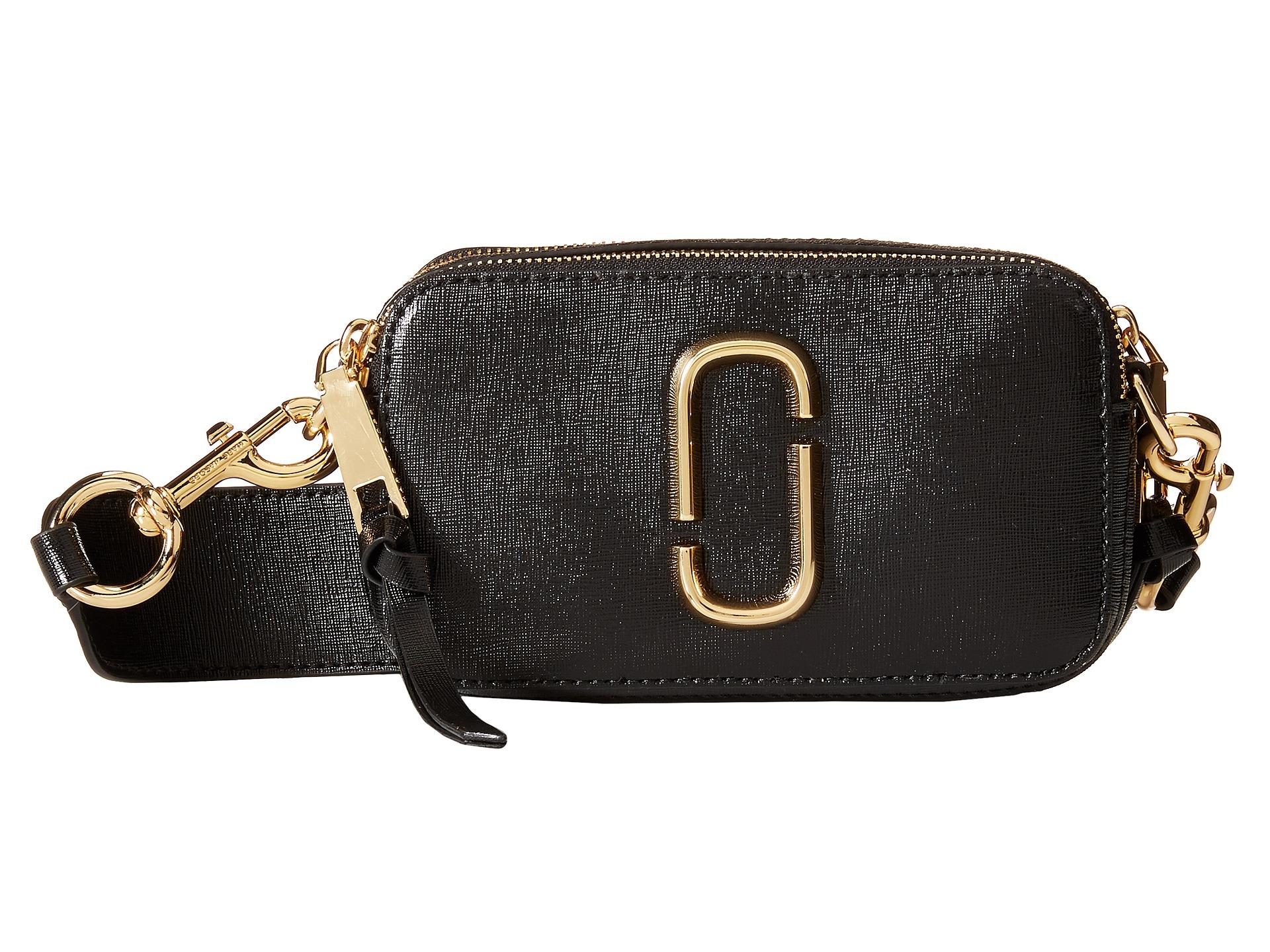 b4b60be6ecb Marc Jacobs Snapshot Color Block Saffiano Small Camera Bag in Black ...
