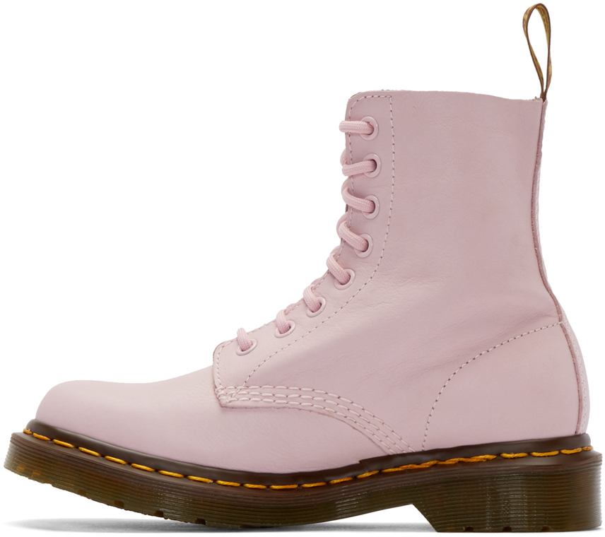 Lyst - Dr. Martens Pink Eight-eye Pascal Boots in Pink e2832fd69b4f