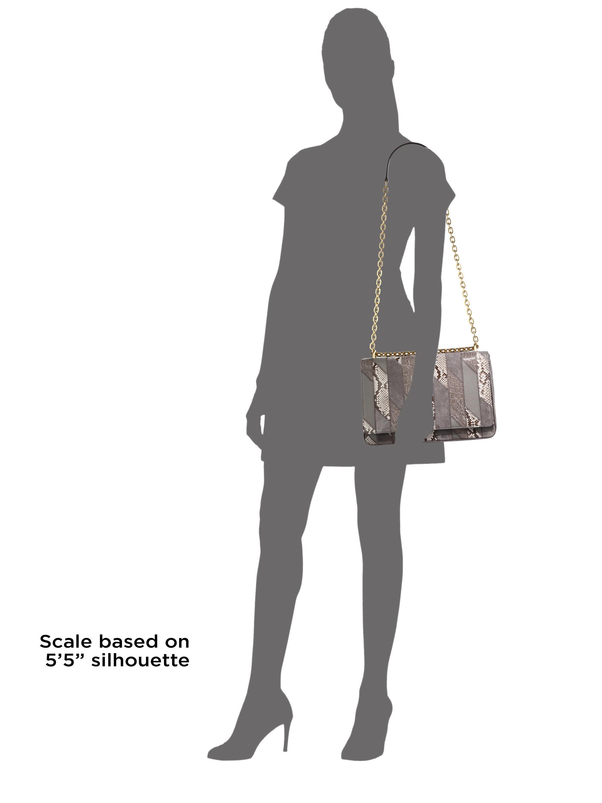 prada bags brown - Prada Patch Shoulder Bag in Animal (grey) | Lyst