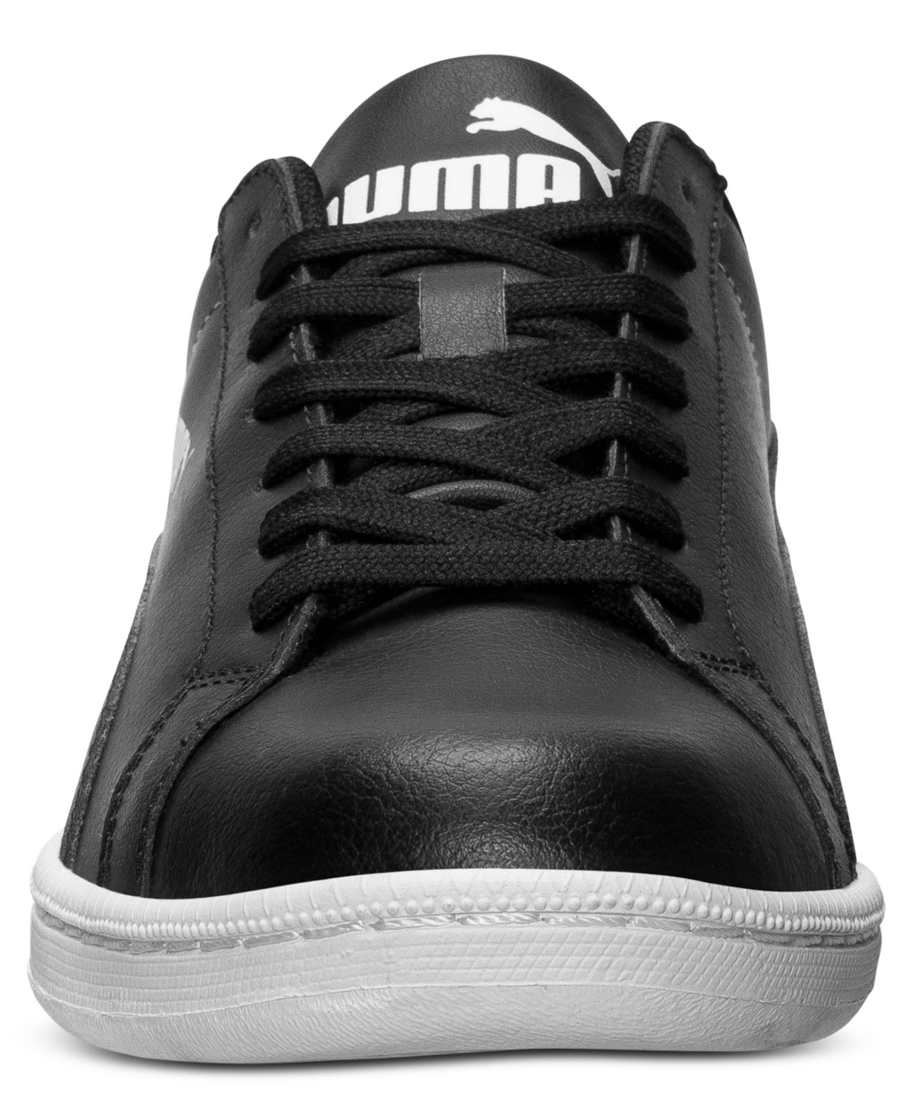 Macy S Vans Black Leather Mens Shoes