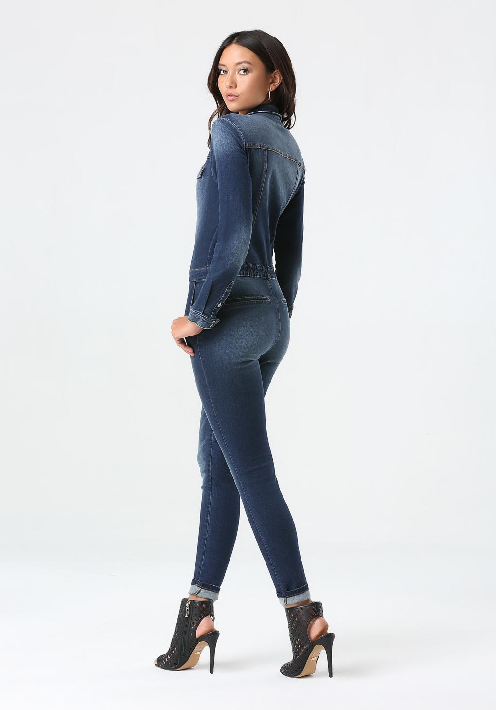 847151092f19a Gallery. Women s Denim Jumpsuits Women s Halter Rompers ...