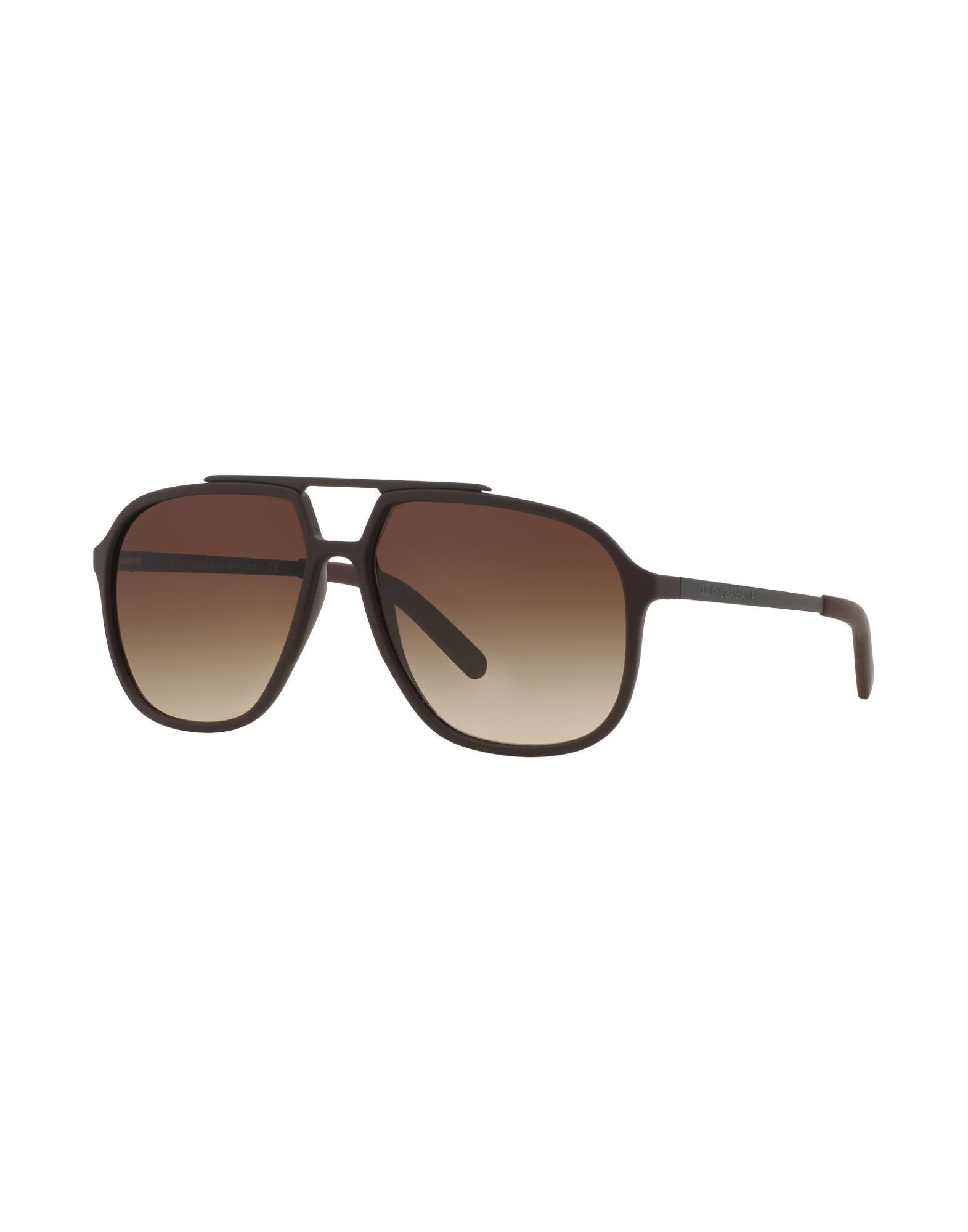 2894efb92997 Dolce   Gabbana Aviator Sunglasses Brown
