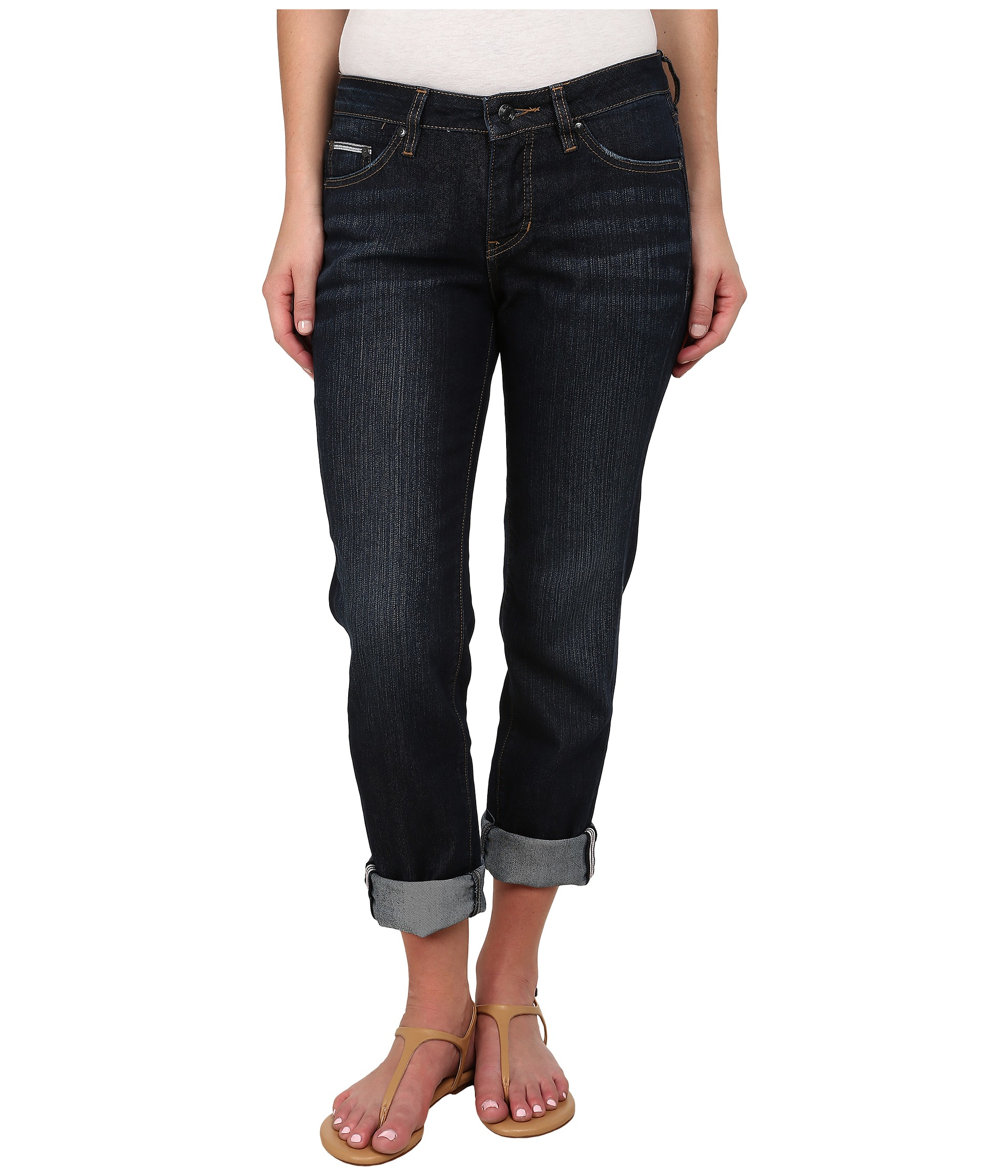 Lyst - Jag Jeans Henry Relaxed Boyfriend In Bowie Blue in Blue