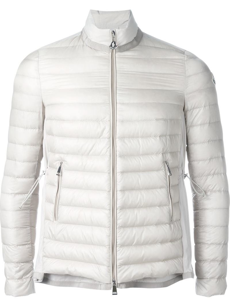 f48401069 Lyst - Moncler  grenouille  Puffer Jacket in White for Men