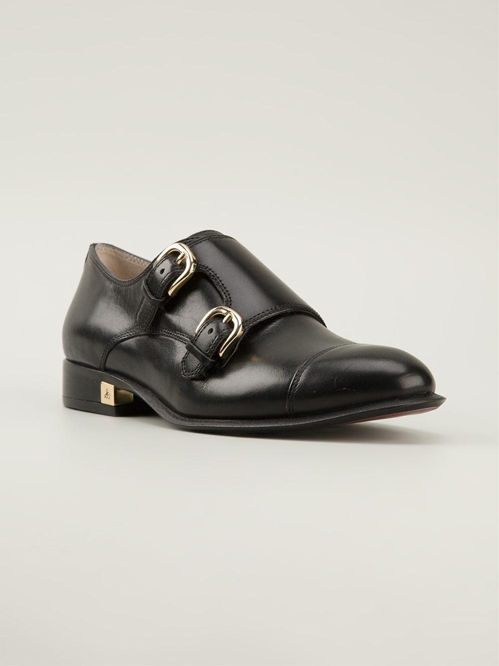 The Rock Khakis Black Shoes