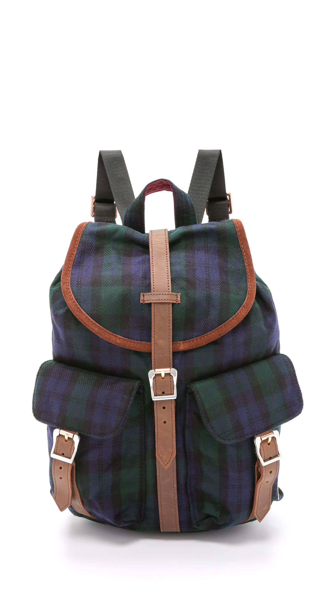 f0ccc816297 Lyst - Herschel Supply Co. Dawson Backpack - Black Watch Plaid in Blue