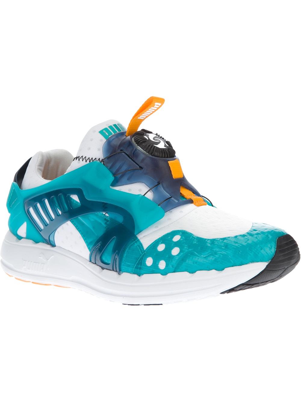 best sneakers 48f17 c4524 PUMA Disc Blaze Lite Tech Sneaker in Blue for Men - Lyst