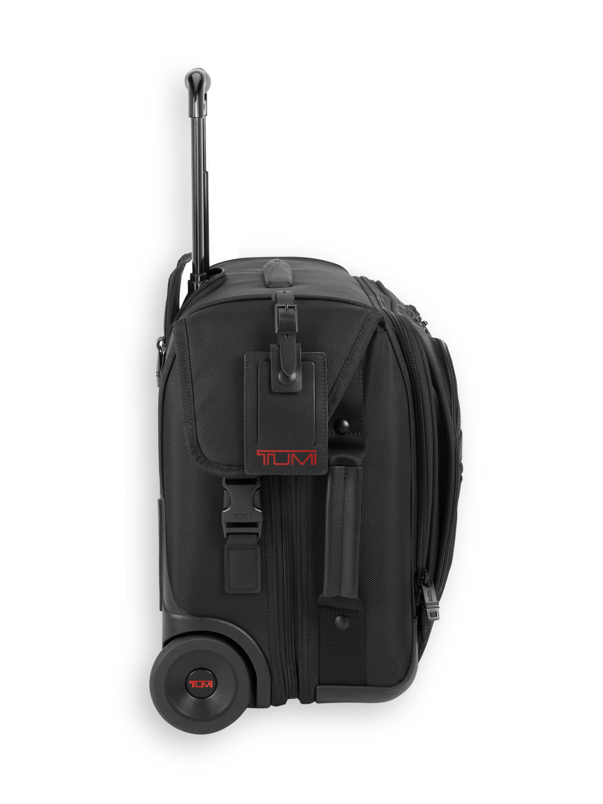 Lyst - Tumi Alpha 2 Wheeled Carry-on Garment Bag in Black for Men b88e528ac5