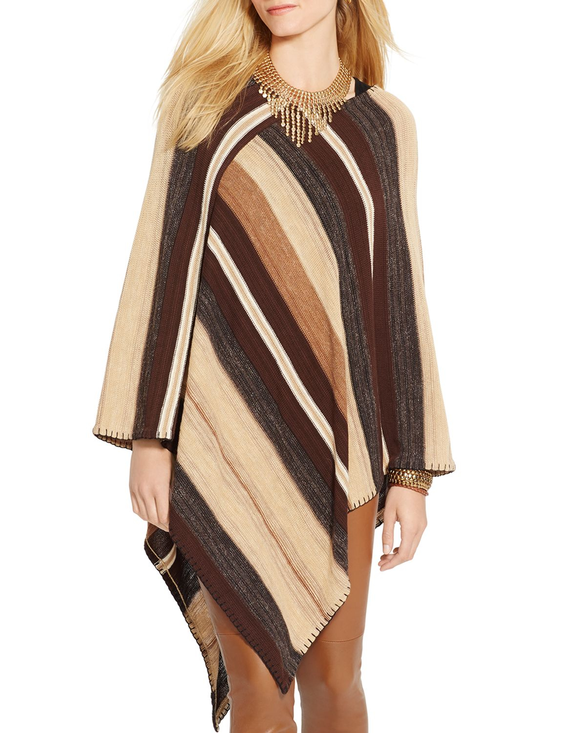 Ralph Lauren Poncho Sweater