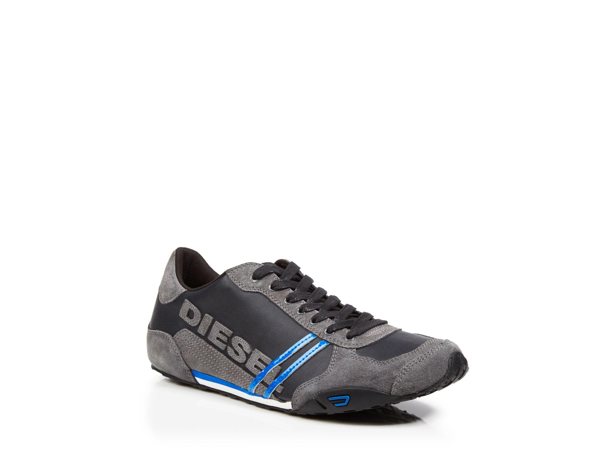 Diesel Solar Black Shoes