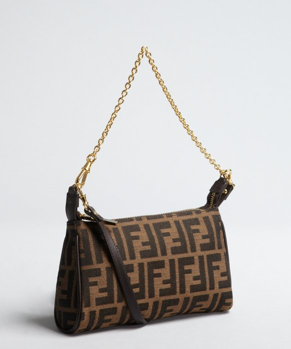 d56ccc871128 0494a d4be6  canada lyst fendi tobacco zucca canvas convertible mini shoulder  bag in brown d90ee cb8d5