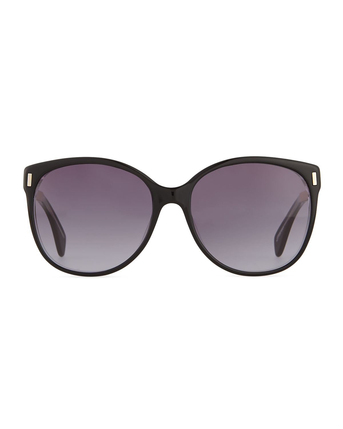 Marc by marc jacobs Clear-edge Butterfly Sunglasses in ...