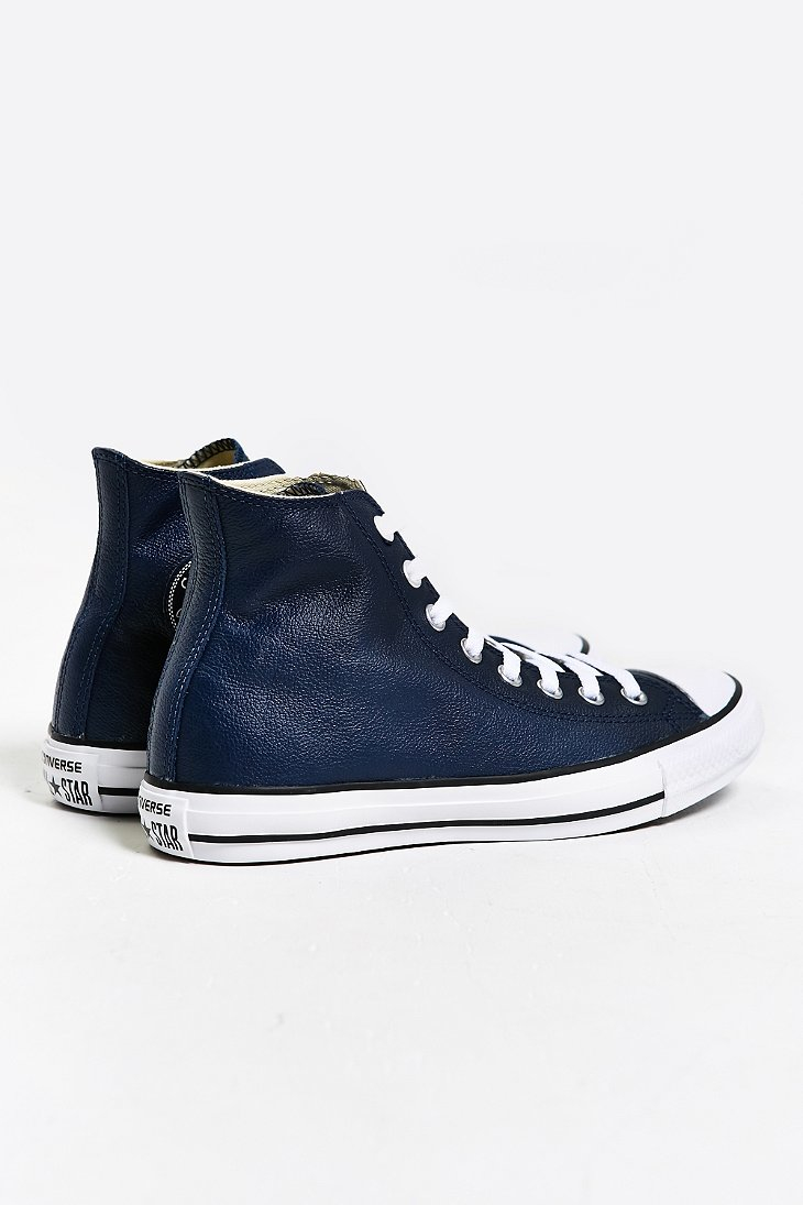 all star converse blue leather wwwimgkidcom the