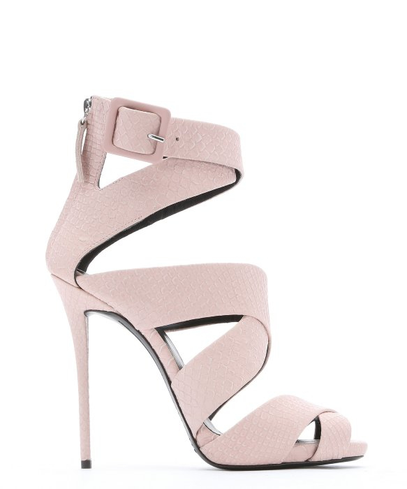 Light Pink Strappy Heels