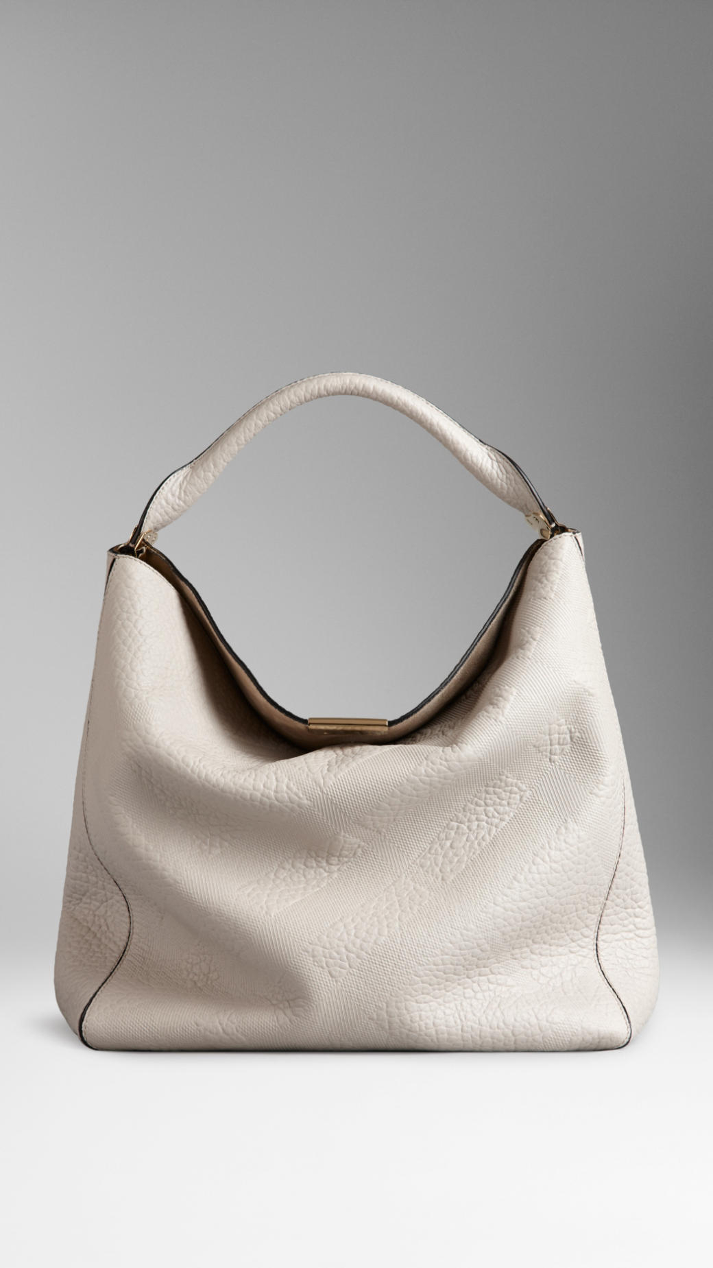 Burberry Embossed Handbag