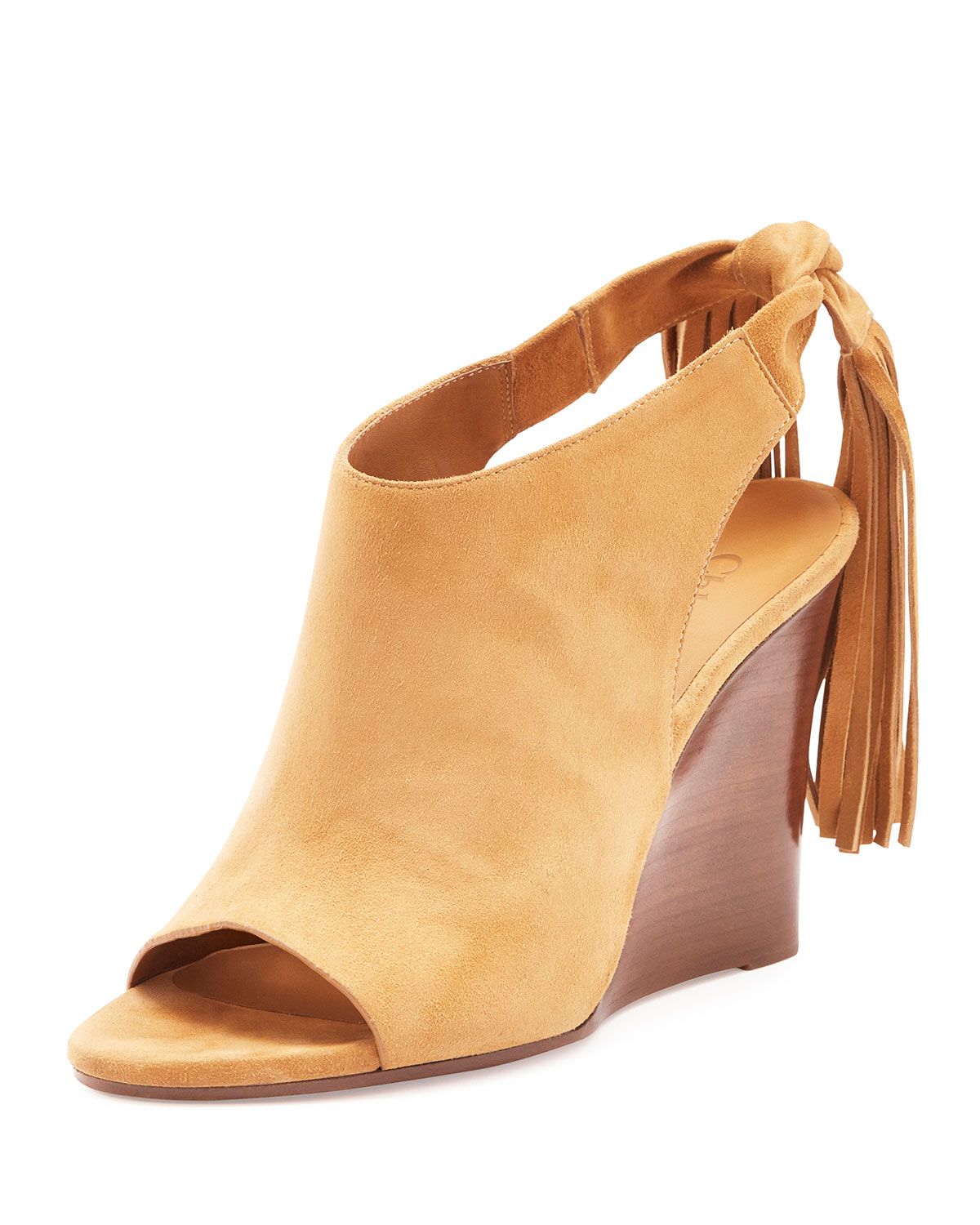 buy cheap extremely Chloé Suede Round-Toe Wedges outlet buy cheap factory outlet outlet 2015 new 2014 cheap online cTaMr