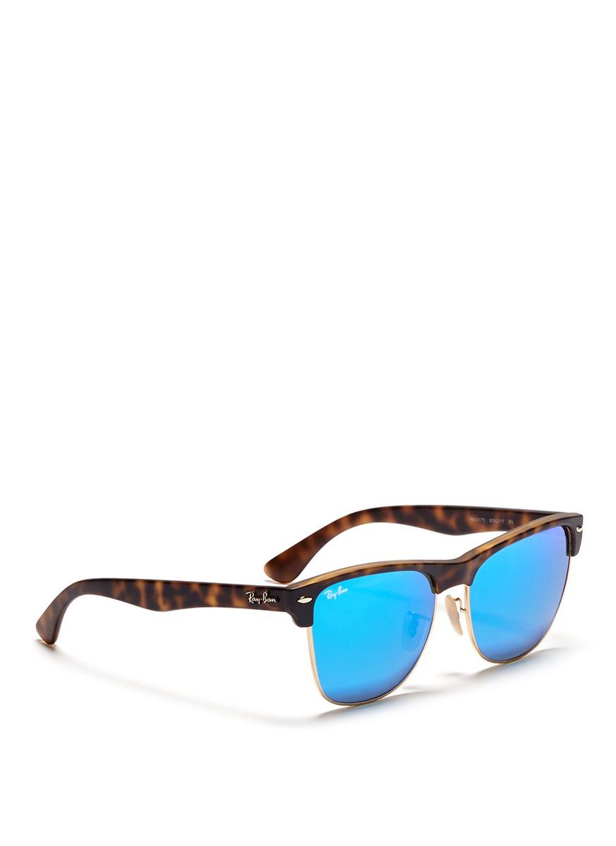 2fd05a6046e Mirror Sunglasses Ray Ban Clubmaster Oversized « Heritage Malta