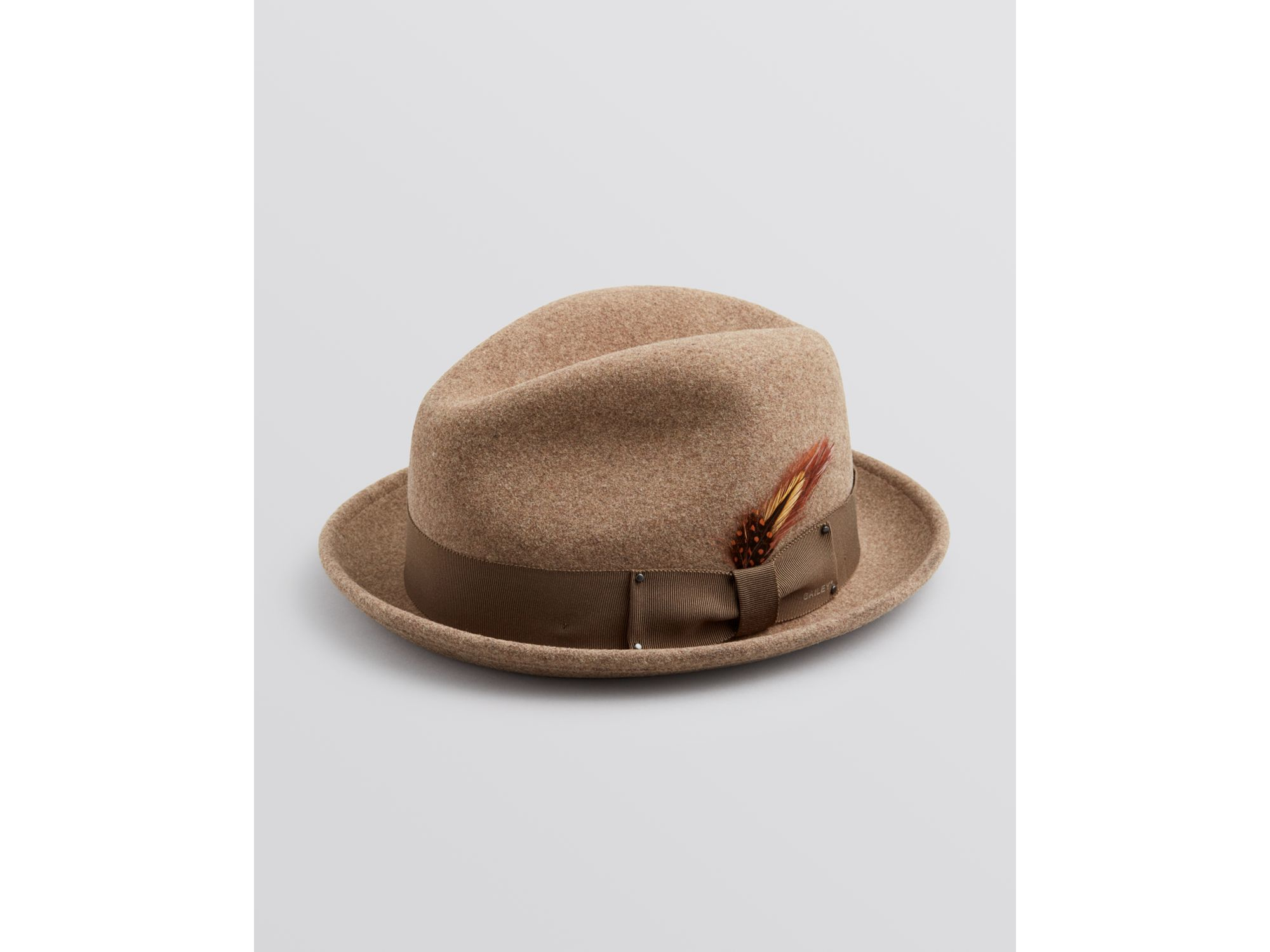 8f515ee97cada Lyst - Bailey of Hollywood Tino Fedora in Brown for Men
