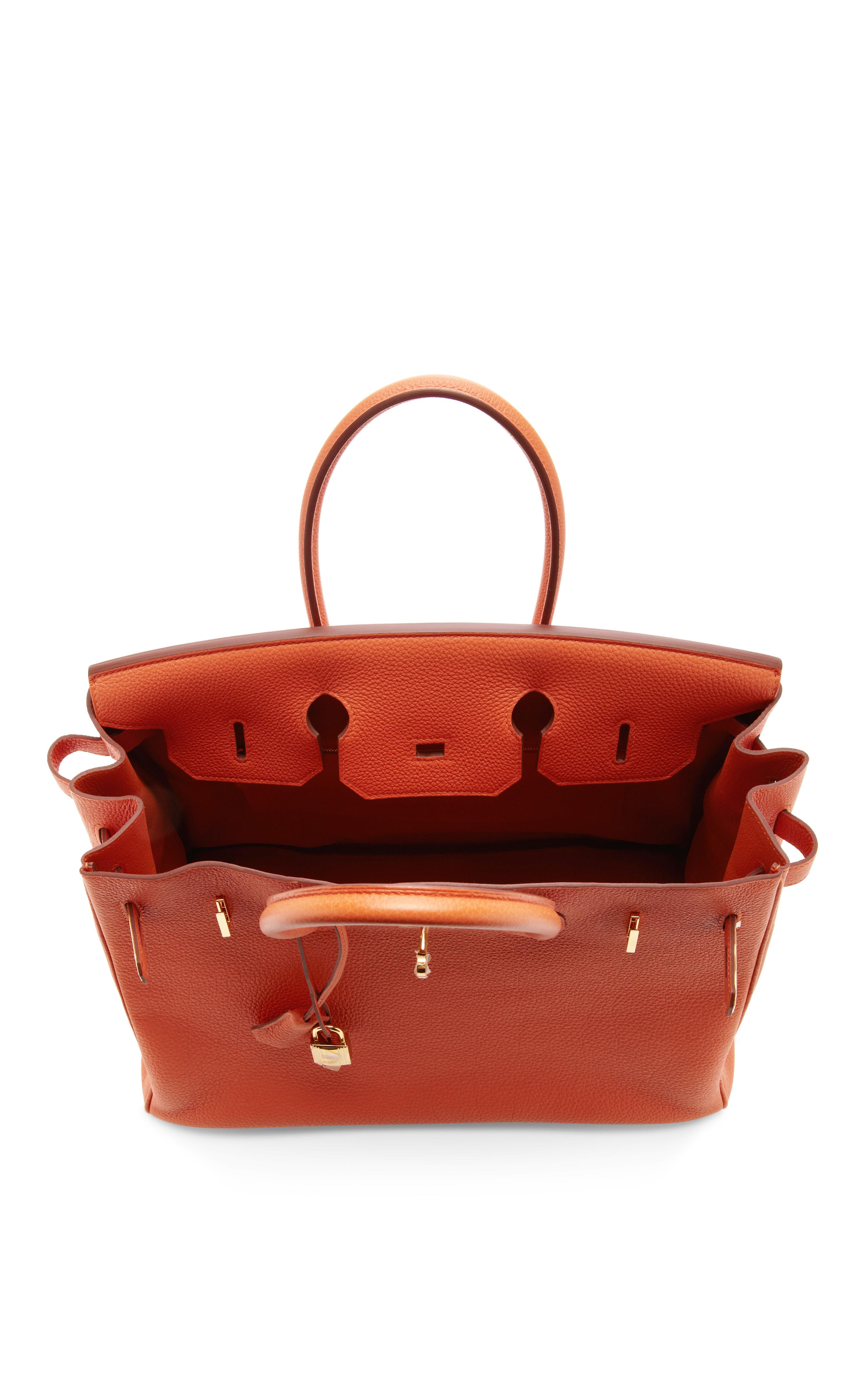 hermes saddle cover - hermes tote bag burnt orange
