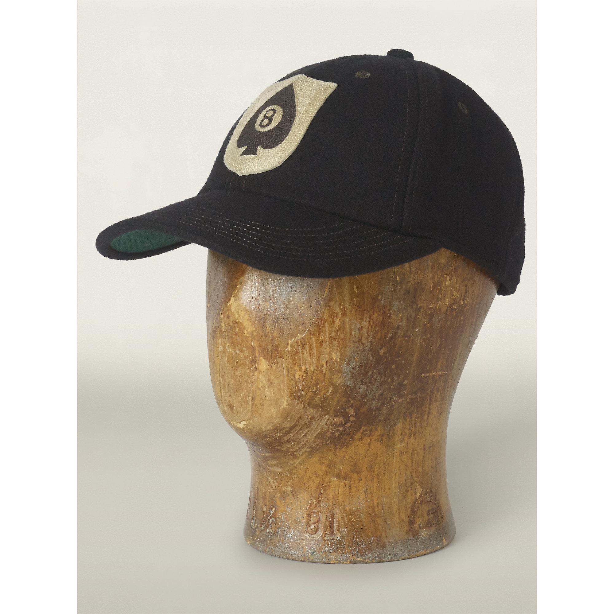 056796fa RRL Wool-blend Snapback Ball Cap in Black for Men - Lyst