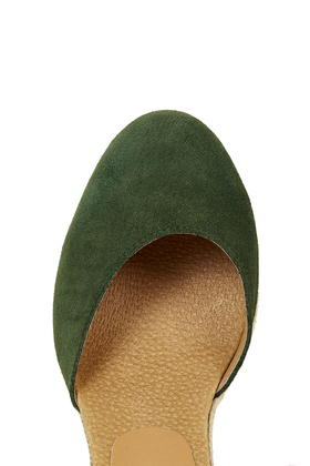 c6a40646c3b5 Lyst - TOPSHOP Warmth Tie Wedges in Green