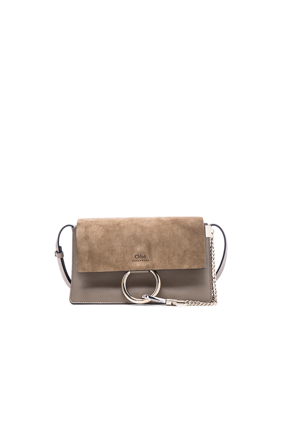 DREW BAG IN MULTICOLOR SUEDE CALFSKIN PATCHWORK & SMOOTH CALFSKIN
