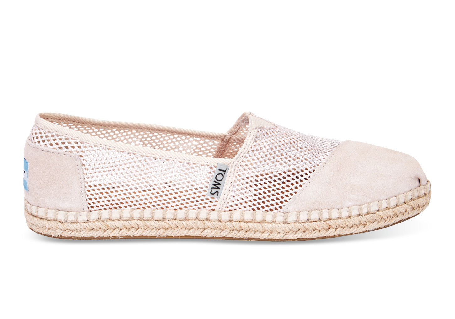 e70f766194d Lyst toms natural mesh womens classics in white jpg 1450x1015 Mesh toms  shoes