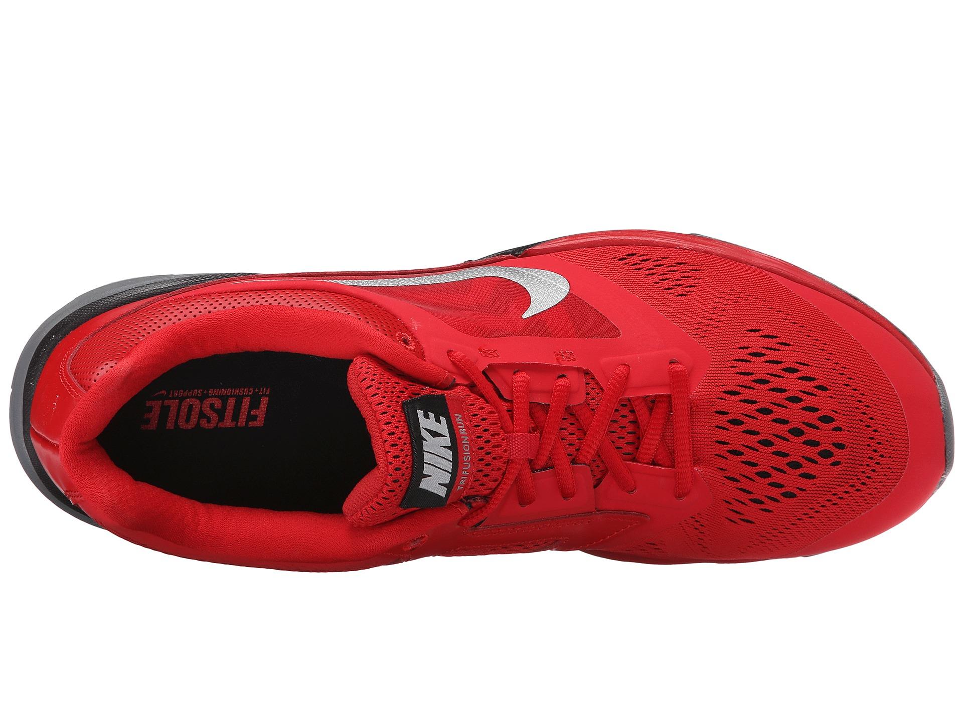 Lyst - Nike Tri Fusion Run in Red 3bb5a0fda