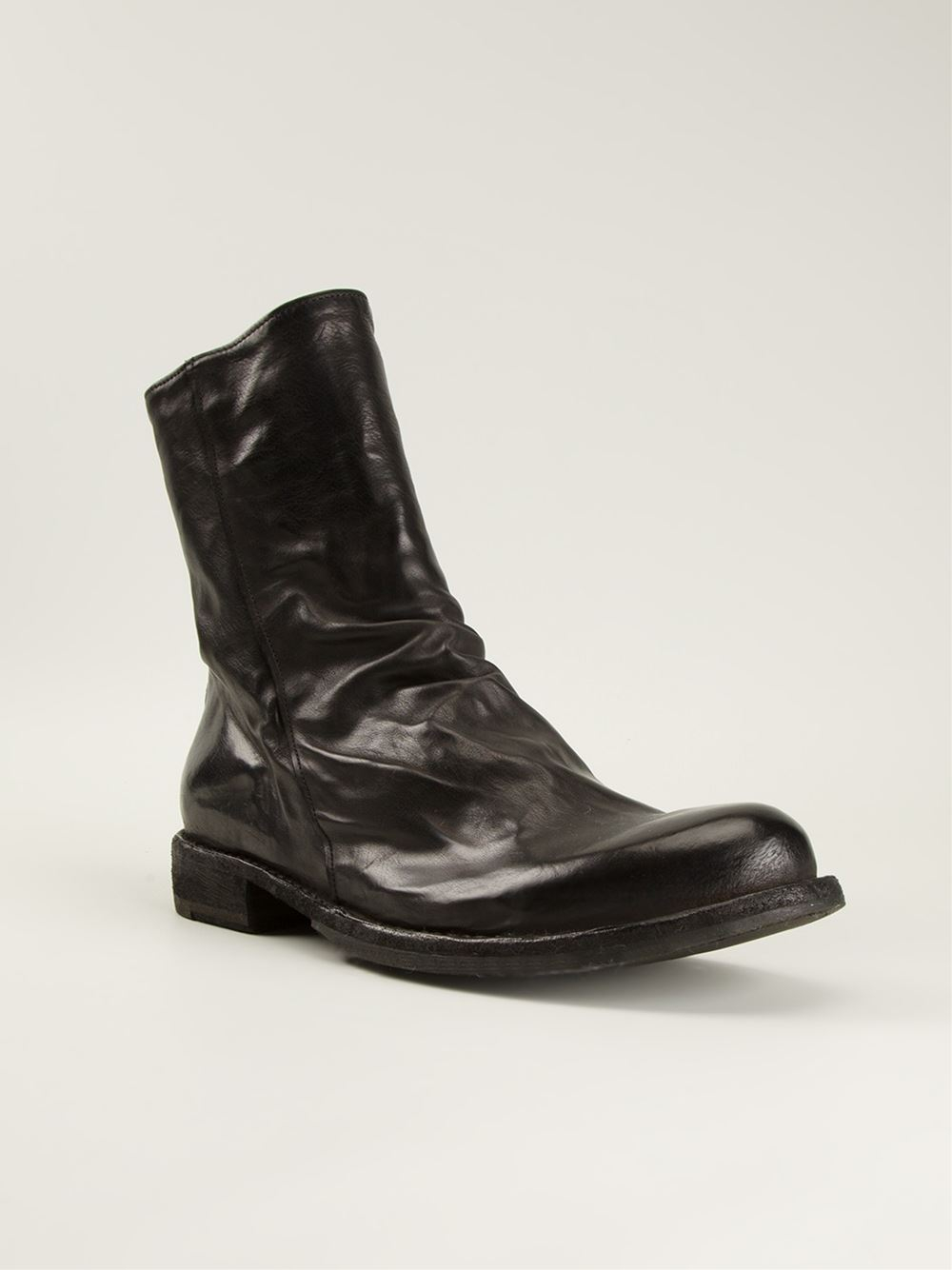 zipped ankle boots - Black Officine Creative 6JYyb9Ar