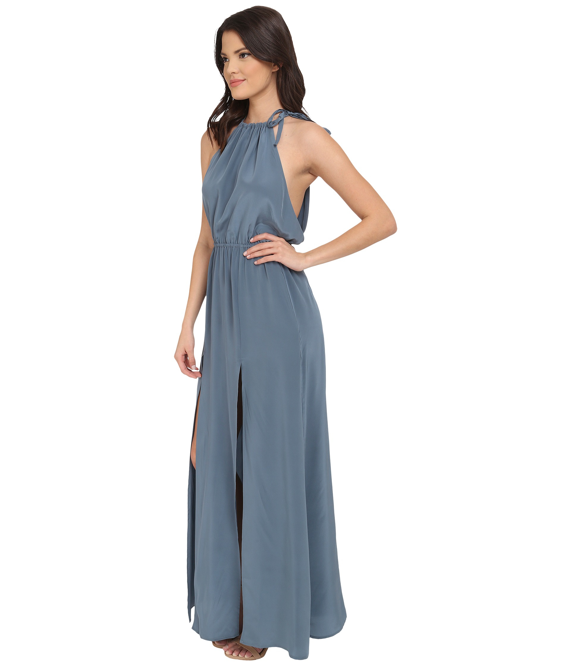 Lyst - Stone Cold Fox Onyx Gown in Gray